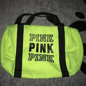 VS PINK small gym bag